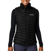 Columbia Mighty LITE Ladies Black Vest-Eastern Shore