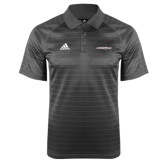 Adidas Climalite Charcoal Jaquard Select Polo-Primary Mark