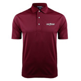 Maroon Dry Mesh Polo-The Shore