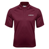 Maroon Dri Mesh Pro Polo-Primary Mark