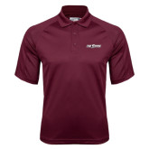Maroon Dri Mesh Pro Polo-The Shore