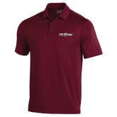 Under Armour Maroon Performance Polo-The Shore