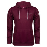 Adidas Climawarm Maroon Team Issue Hoodie-Eastern Shore