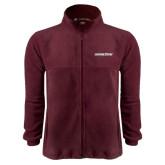 Fleece Full Zip Maroon Jacket-Eastern Shore