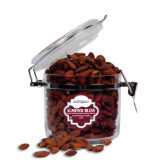 Almond Bliss Round Canister-Hawk Head