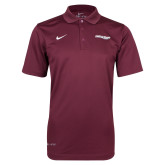 Maryland Eastern Shore NIKE D Maroon Varsity Polo-