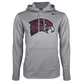 Maryland Eastern Shore NIKE D Heather Grey KO Hoody-