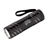 Astro Black Flashlight-Hawk Head Engraved