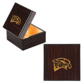 Wooden Jewelry Box-Hawk Head Engraved