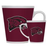 Full Color Latte Mug 12oz-Hawk Head