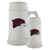 Full Color Decorative Ceramic Mug 22oz-Hawk Head