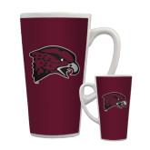 Full Color Latte Mug 17oz-Hawk Head