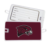 Luggage Tag-Hawk Head