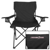 Deluxe Black Captains Chair-Eastern Shore