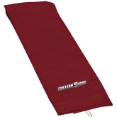 Maroon Golf Towel-Eastern Shore