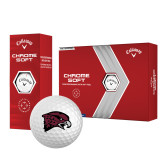 Callaway Chrome Soft Golf Balls 12/pkg-Hawk Head