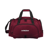 Challenger Team Maroon Sport Bag-Primary Mark
