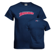 Navy T Shirt-MSU Roadrunners