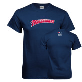 Navy T Shirt-Roadrunners