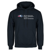 Navy Fleece Hoodie-Master of Health Administration