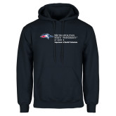 Navy Fleece Hoodie-Department of Health Professions