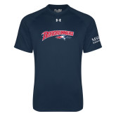Under Armour Navy Tech Tee-Roadrunners with Head