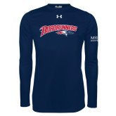 Under Armour Navy Long Sleeve Tech Tee-Roadrunners with Head