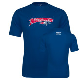 Performance Navy Tee-Roadrunners with Head