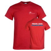 Red T Shirt-School of Education Flat