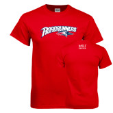 Red T Shirt-Roadrunners with Head