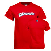 Red T Shirt-MSU Roadrunners