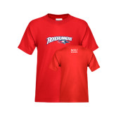 Youth Red T Shirt-Roadrunners with Head