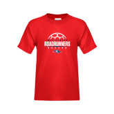 Youth Red T Shirt-Soccer