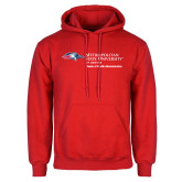 Red Fleece Hoodie-Master of Health Administration