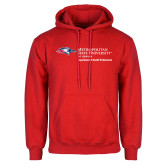 Red Fleece Hoodie-Department of Health Professions