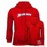Red Fleece Hoodie-Roadrunners