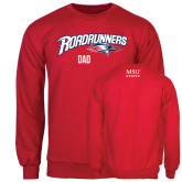 Red Fleece Crew-Dad