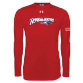 Under Armour Red Long Sleeve Tech Tee-Roadrunners with Head