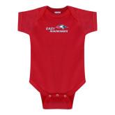 Red Infant Onesie-Baby Roadrunner