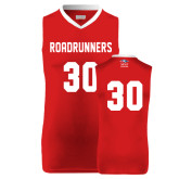 Replica Red Adult Basketball Jersey-#30