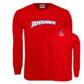 Red Long Sleeve T Shirt-Roadrunners