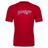 Performance Red Tee-Roadrunners with Head