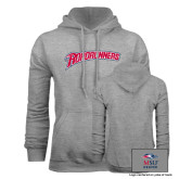 Grey Fleece Hoodie-Roadrunners