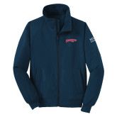 Navy Charger Jacket-Roadrunners with Head
