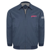 Navy Players Jacket-Roadrunners with Head