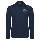 Fleece Full Zip Navy Jacket-Master of Health Administration