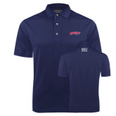 Navy Dry Mesh Polo-Roadrunners with Head