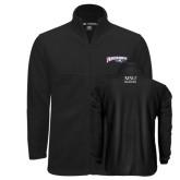 Fleece Full Zip Black Jacket-Roadrunners with Head