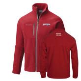 Columbia Full Zip Red Fleece Jacket-Roadrunners with Head