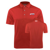 Red Dry Mesh Polo-Roadrunners with Head